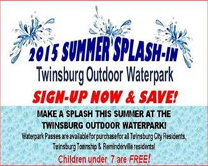 Waterpark 2015 On Sale Ad