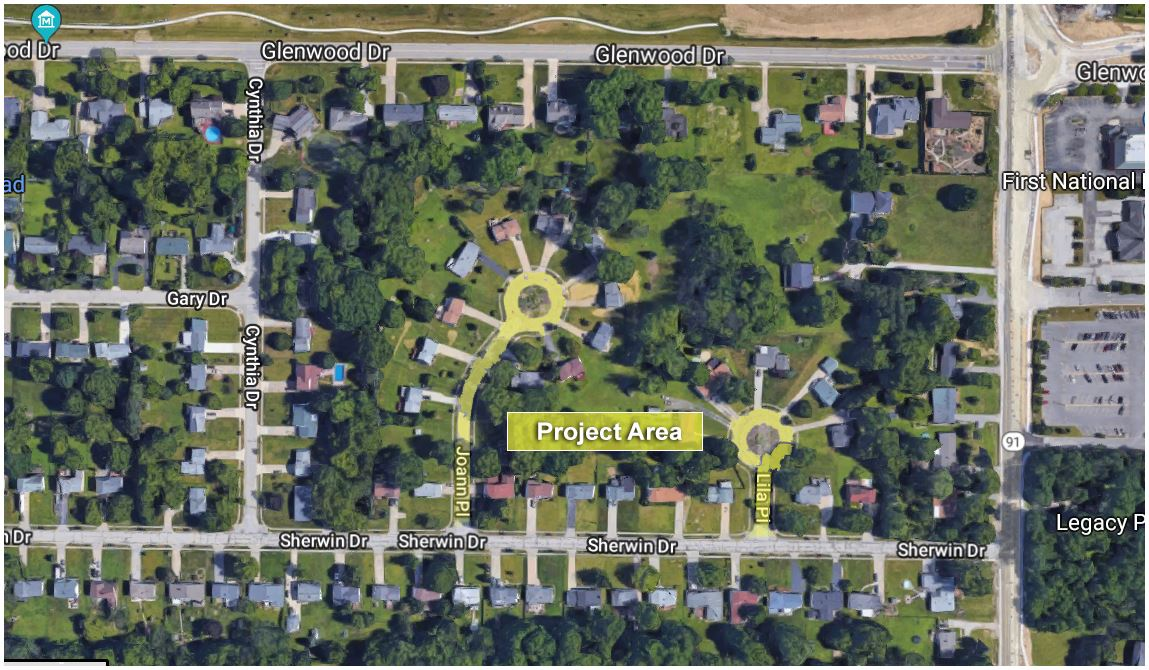 2018 Joann & Lila Place Reconstruction Project Including Terrace Drive Resurfacing