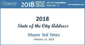 City of Twinsburg 2018 State of the City Address - Mayor Ted Yates