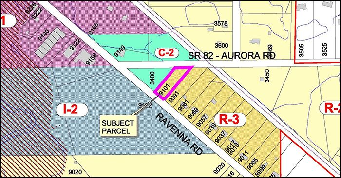 ISSUE #30 REZONING OF 9101 RAVENNA ROAD (PARCEL 64-01553) Proposed Zoning Amendment Shall Ordina