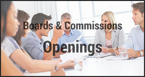 Board & Commission Openings