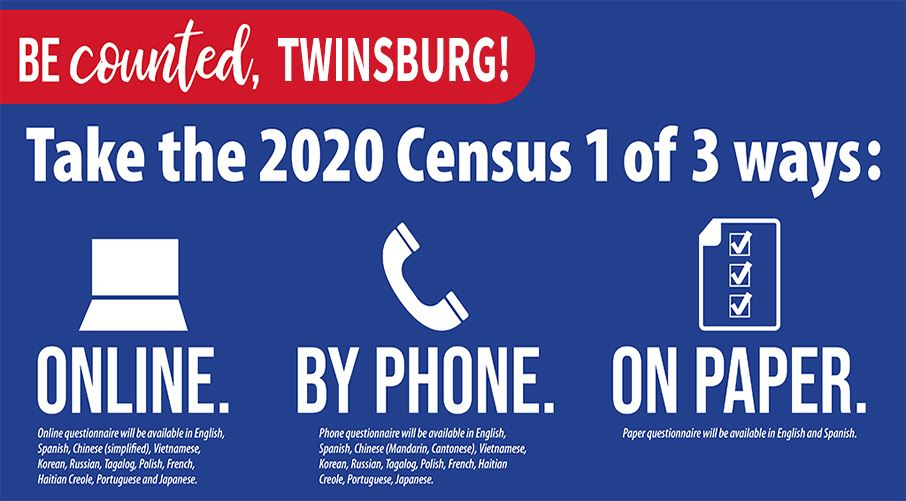 Hey, Twinsburg! It's not too late to complete your 2020 census. We're doing great so far with