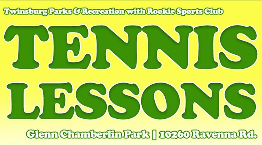 Fall youth tennis lessons begin on Saturday, September 12. Online registration begins August 17