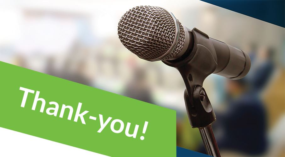 Thank-you! Whether you took the survey or participated in a focus group, we want to thank all who to
